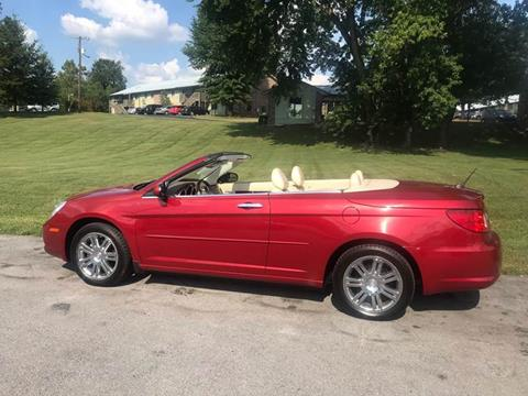 2008 Chrysler Sebring for sale at Knoxville Wholesale in Knoxville TN