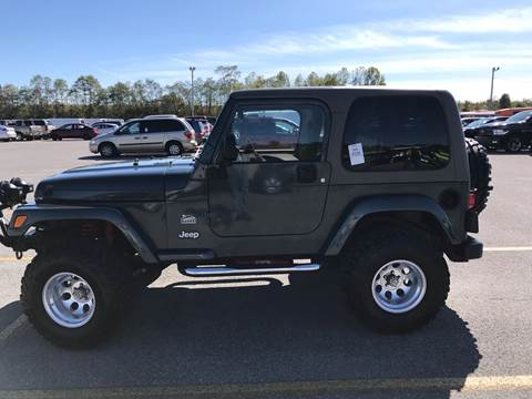 2003 Jeep Wrangler for sale at Knoxville Wholesale in Knoxville TN