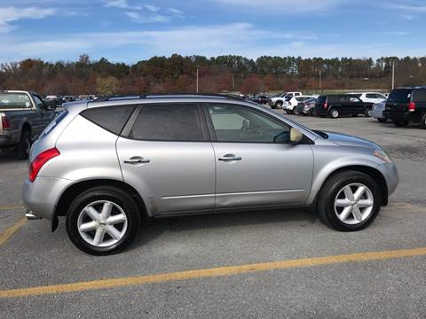 2003 Nissan Murano for sale at Knoxville Wholesale in Knoxville TN