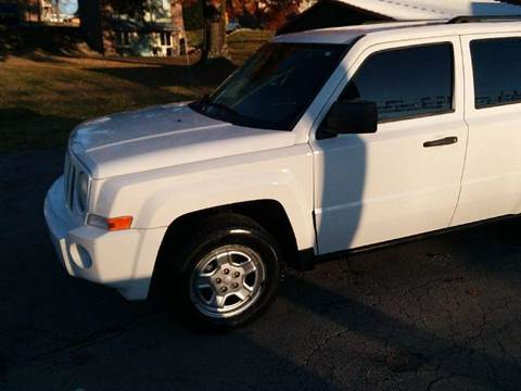 2008 Jeep Patriot for sale at Knoxville Wholesale in Knoxville TN