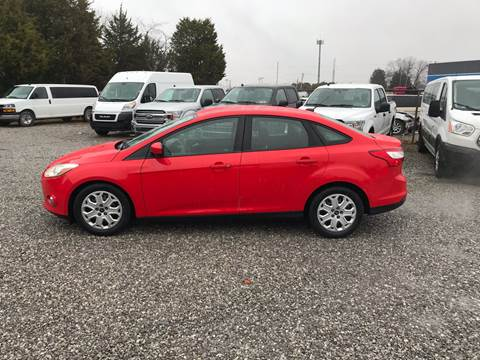 2012 Ford Focus for sale at Knoxville Wholesale in Knoxville TN