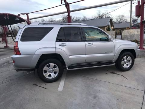 2003 Toyota 4Runner for sale at Knoxville Wholesale in Knoxville TN