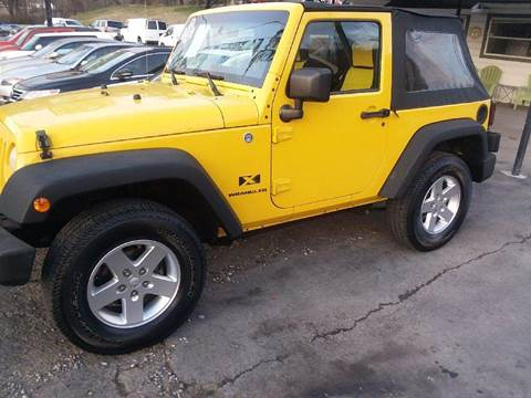 2008 Jeep Wrangler for sale at Knoxville Wholesale in Knoxville TN