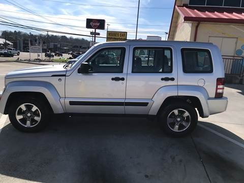 2008 Jeep Liberty for sale at Knoxville Wholesale in Knoxville TN