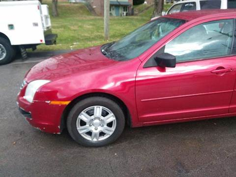 2008 Ford Fusion for sale at Knoxville Wholesale in Knoxville TN