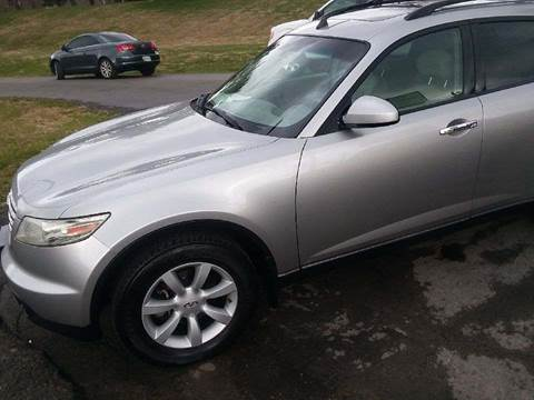 2005 Infiniti FX35 for sale at Knoxville Wholesale in Knoxville TN