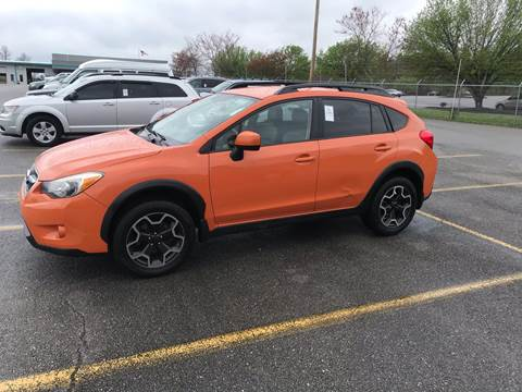 2013 Subaru XV Crosstrek for sale at Knoxville Wholesale in Knoxville TN