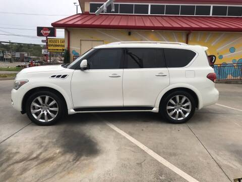2011 Infiniti QX56 for sale at Knoxville Wholesale in Knoxville TN