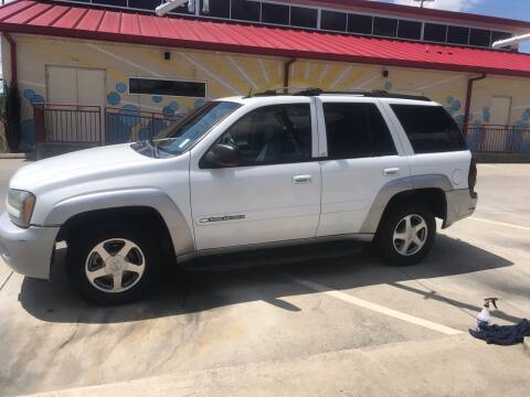 2004 Chevrolet TrailBlazer for sale at Knoxville Wholesale in Knoxville TN
