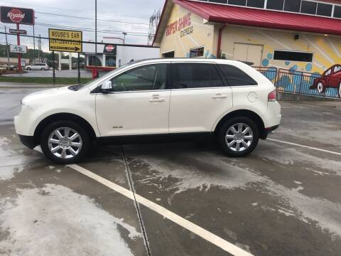 2007 Lincoln MKX for sale at Knoxville Wholesale in Knoxville TN