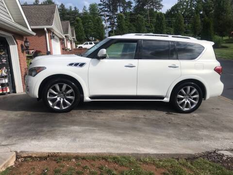 2013 Infiniti QX56 for sale at Knoxville Wholesale in Knoxville TN