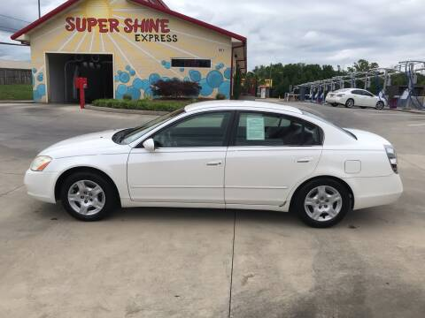 2002 Nissan Altima for sale at Knoxville Wholesale in Knoxville TN