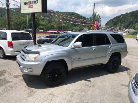 2005 Toyota 4Runner for sale at Knoxville Wholesale in Knoxville TN