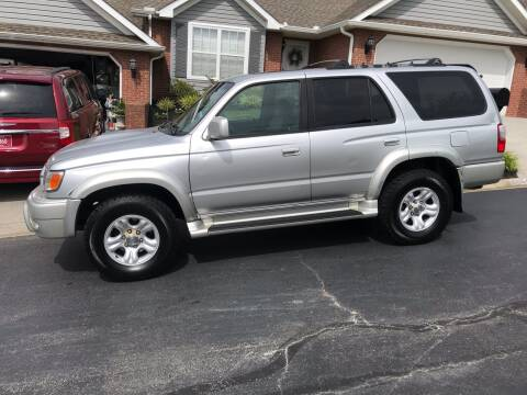 2001 Toyota 4Runner for sale at Knoxville Wholesale in Knoxville TN