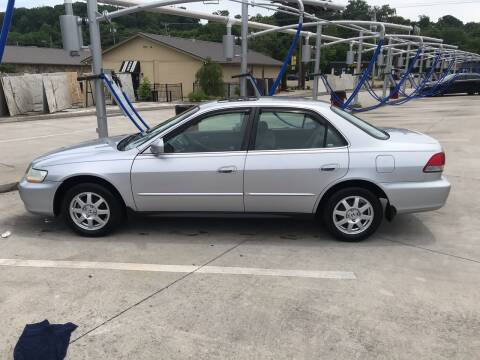 2002 Honda Accord for sale at Knoxville Wholesale in Knoxville TN