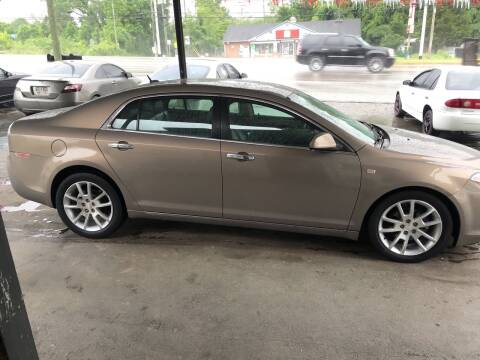 2008 Chevrolet Malibu for sale at Knoxville Wholesale in Knoxville TN
