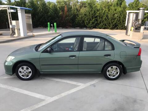 2004 Honda Civic for sale at Knoxville Wholesale in Knoxville TN
