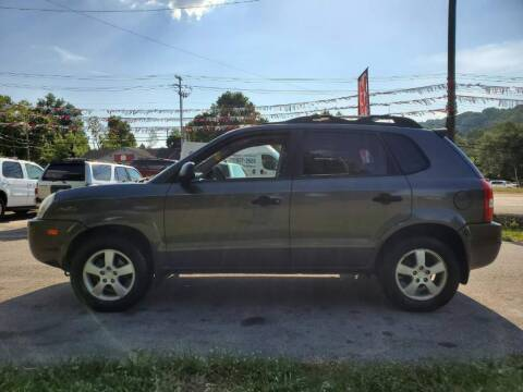 2007 Hyundai Tucson for sale at Knoxville Wholesale in Knoxville TN