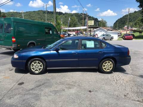 2003 Chevrolet Impala for sale at Knoxville Wholesale in Knoxville TN