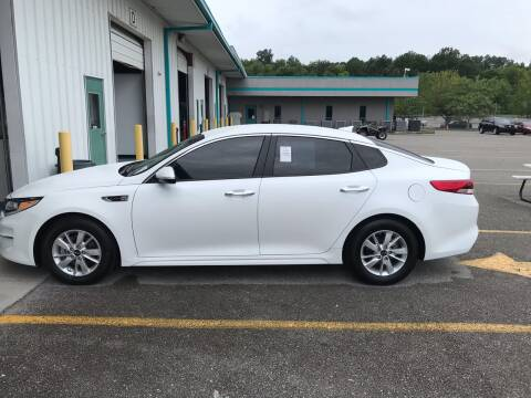 2016 Kia Optima for sale at Knoxville Wholesale in Knoxville TN