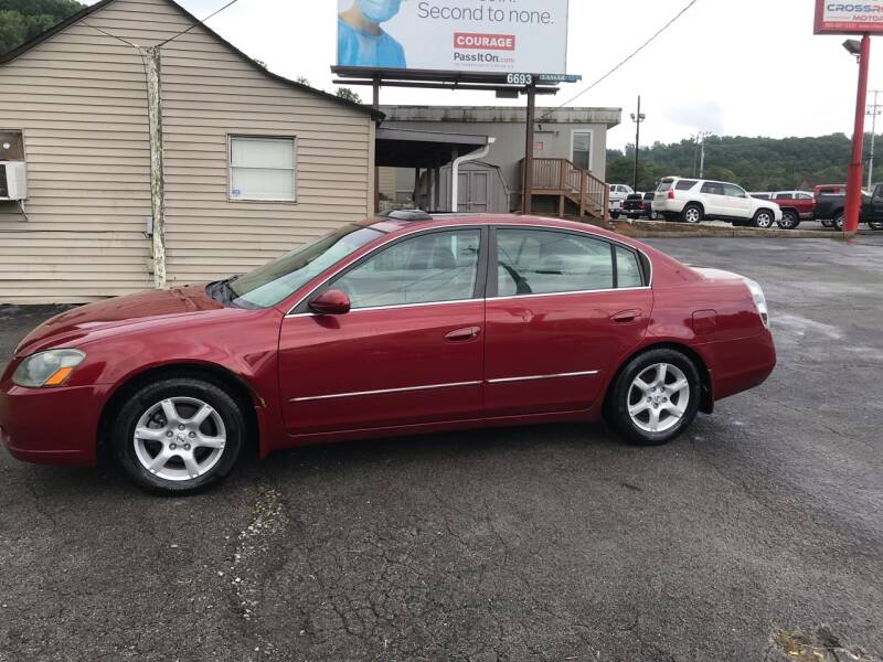 2005 Nissan Altima for sale at Knoxville Wholesale in Knoxville TN
