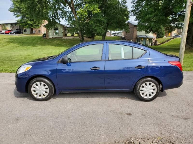 2014 Nissan Versa for sale at Knoxville Wholesale in Knoxville TN