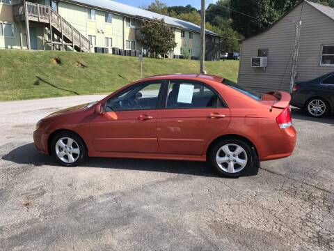 2008 Kia Spectra for sale at Knoxville Wholesale in Knoxville TN