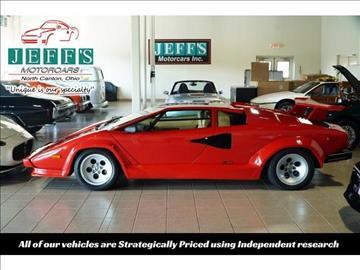 1987 Lamborghini Countach for sale in North Canton, OH