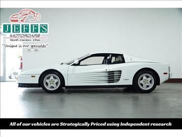 1991 Ferrari Testarossa for sale in North Canton, OH
