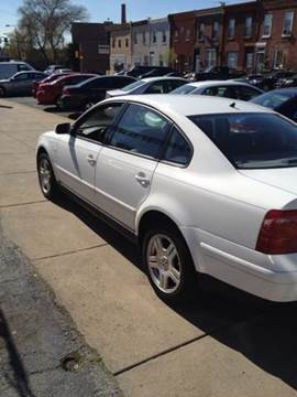 2001 Volkswagen Passat for sale at K J AUTO SALES in Philadelphia PA