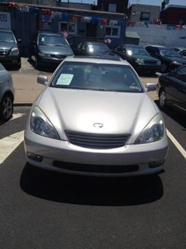 2004 Lexus ES 330 for sale at K J AUTO SALES in Philadelphia PA