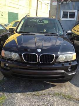 2003 BMW X5 for sale at K J AUTO SALES in Philadelphia PA