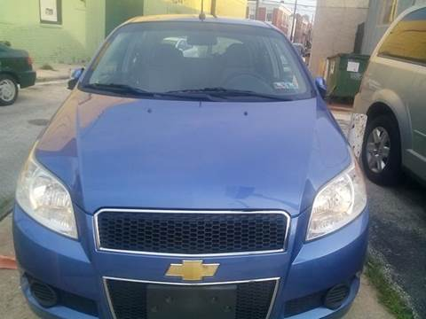 2009 Chevrolet Aveo for sale at K J AUTO SALES in Philadelphia PA