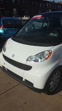 2009 Smart fortwo for sale at K J AUTO SALES in Philadelphia PA