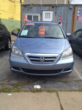 2006 Honda Odyssey for sale at K J AUTO SALES in Philadelphia PA