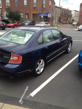 2007 Subaru Legacy for sale at K J AUTO SALES in Philadelphia PA