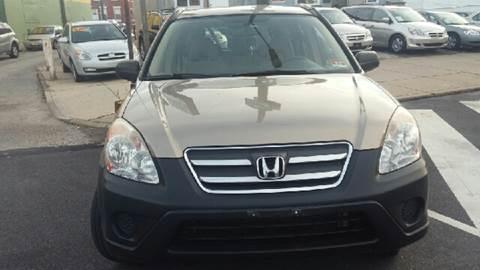 2005 Honda CR-V for sale at K J AUTO SALES in Philadelphia PA