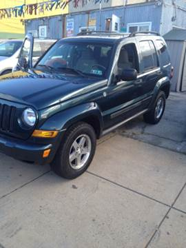 2005 Jeep Liberty for sale at K J AUTO SALES in Philadelphia PA