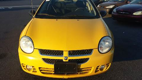 2004 Dodge Neon for sale at K J AUTO SALES in Philadelphia PA