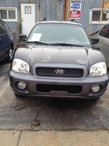 2004 Hyundai Santa Fe for sale at K J AUTO SALES in Philadelphia PA