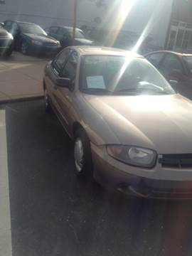 2003 Chevrolet Cavalier for sale at K J AUTO SALES in Philadelphia PA