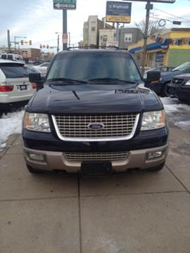 2003 Ford Expedition for sale at K J AUTO SALES in Philadelphia PA