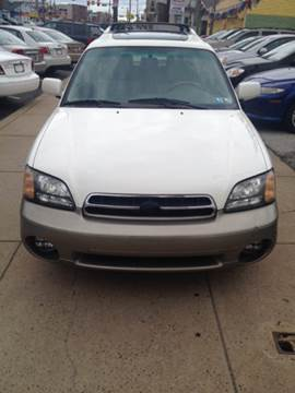 2002 Subaru Outback for sale at K J AUTO SALES in Philadelphia PA