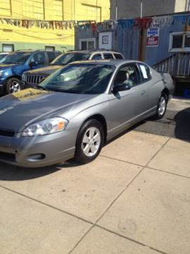 2007 Chevrolet Monte Carlo for sale at K J AUTO SALES in Philadelphia PA