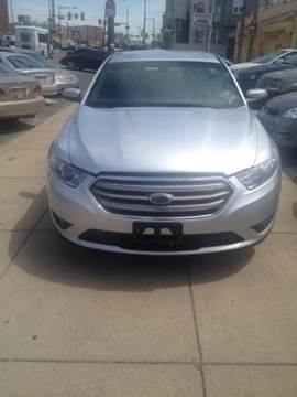 2013 Ford Taurus for sale at K J AUTO SALES in Philadelphia PA