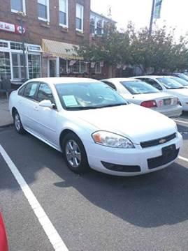 2010 Chevrolet Impala for sale at K J AUTO SALES in Philadelphia PA