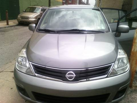 2011 Nissan Versa for sale at K J AUTO SALES in Philadelphia PA