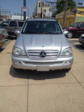 2005 Mercedes-Benz M-Class for sale at K J AUTO SALES in Philadelphia PA
