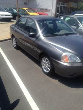 2004 Kia Rio for sale at K J AUTO SALES in Philadelphia PA