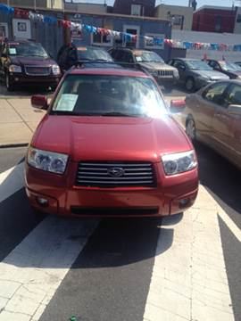 2006 Subaru Forester for sale at K J AUTO SALES in Philadelphia PA